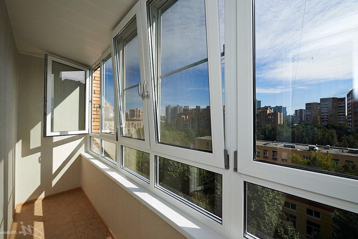 Варианты застекления балкона.